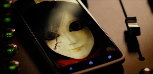 Haunted dolls instinctively understand the creepy uses of smartphones.